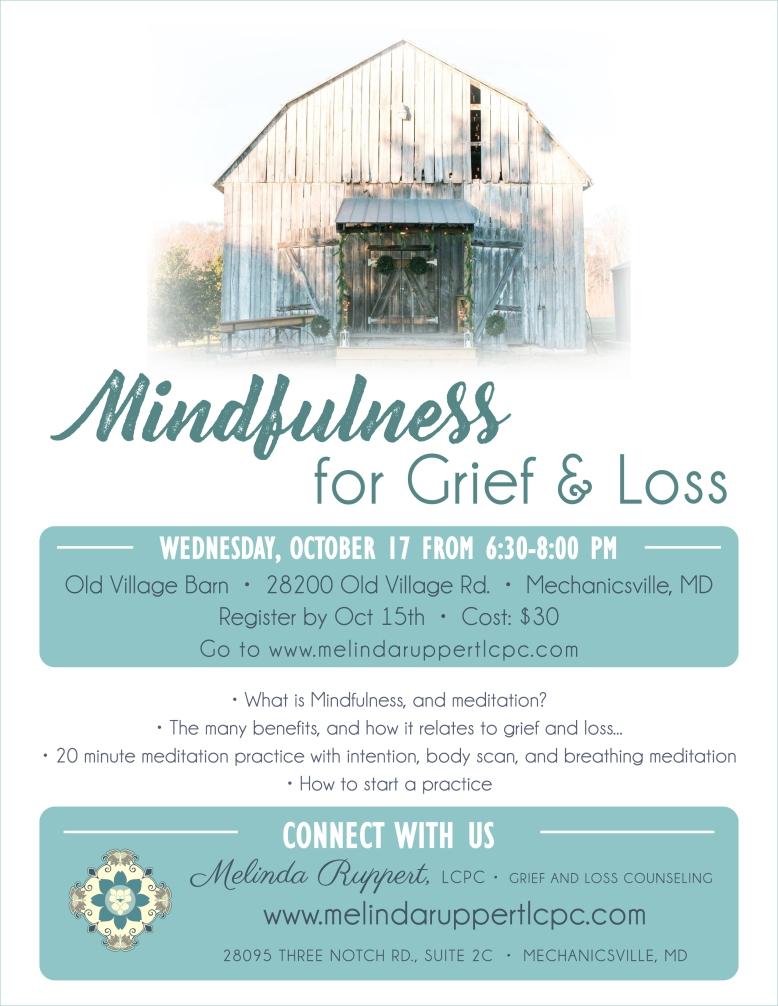 Mindfulness and Meditation Flyer