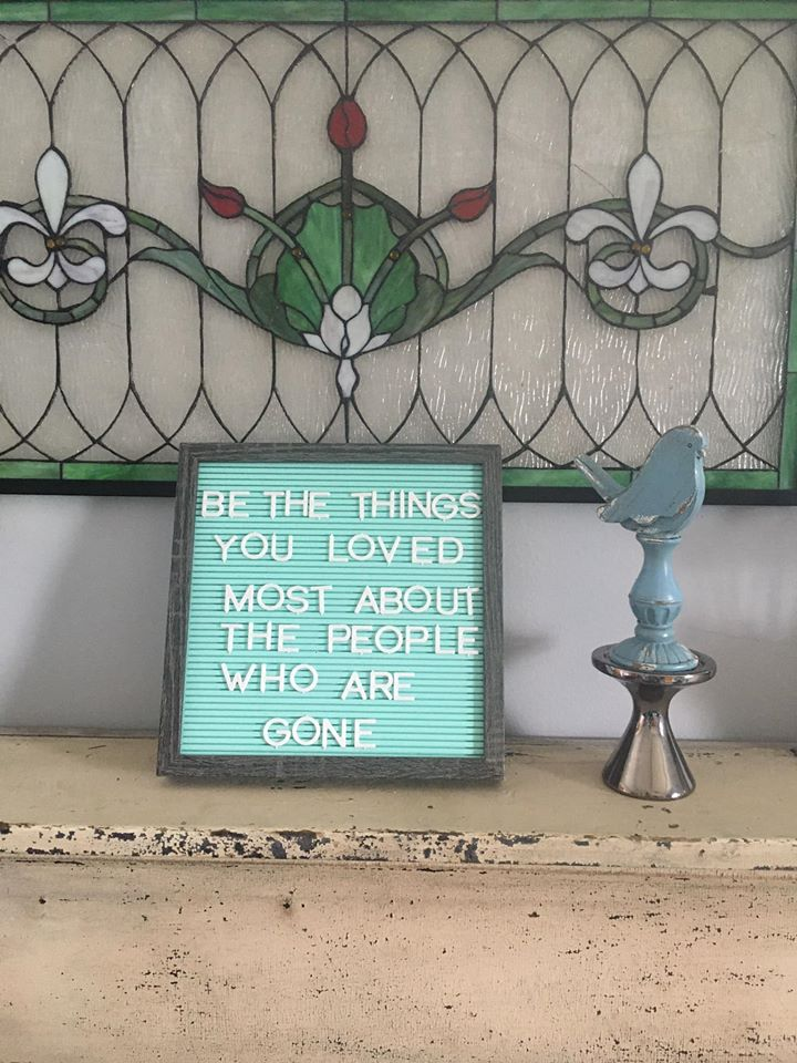be the thing.. sign